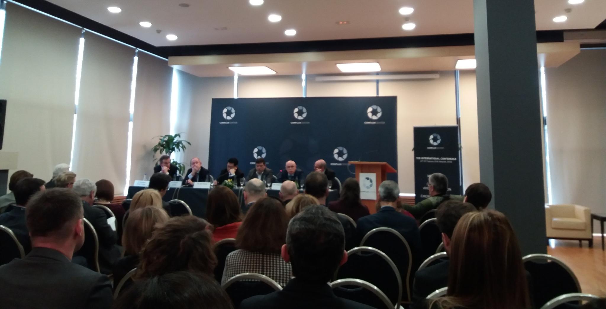 GENERALNI SEKRETAR SUSB NA PRVOJ MEĐUNARODNOJ KONFERENCIJI CONFLUX CENTRA